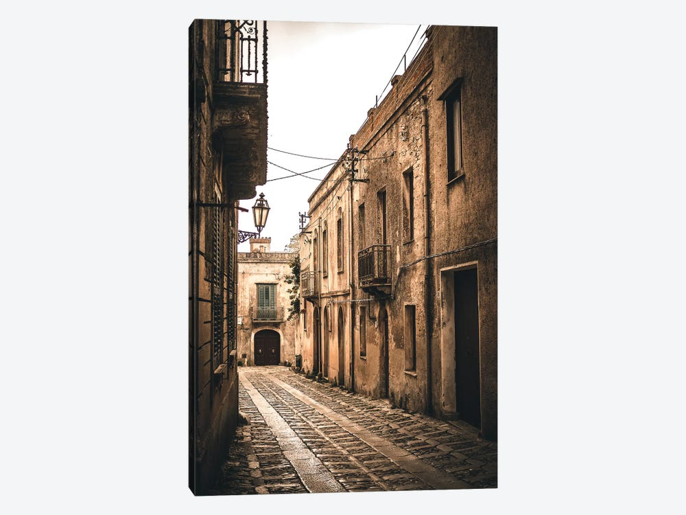 Sicily Streets by Florian Schleinig 1-piece Canvas Art Print
