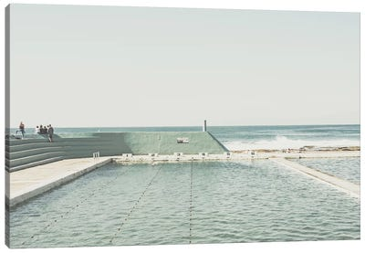 Beach Of Newcastle, Australia, I Canvas Art Print
