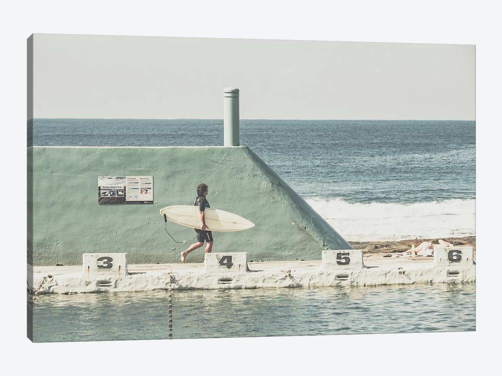 Beach Of Newcastle, Australia, II by Florian Schleinig 1-piece Canvas Wall Art