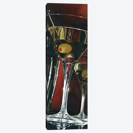 Cocktail Hour 3-Piece Canvas #FSF10} by Stefano Ferreri Art Print