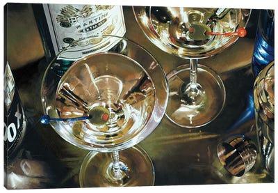 Martini Bar Canvas Art Print