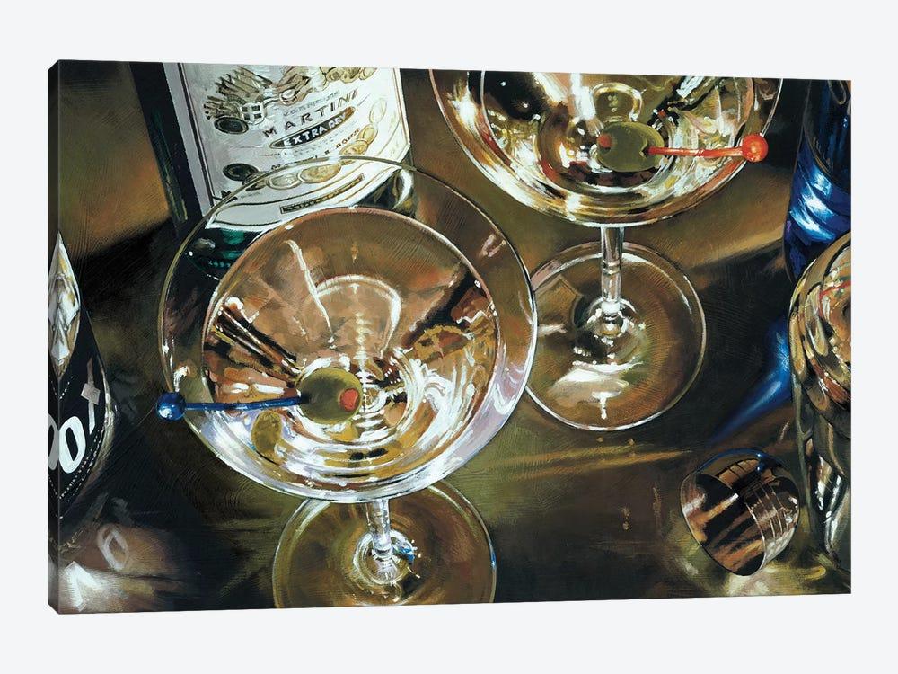 Martini Bar by Stefano Ferreri 1-piece Canvas Art