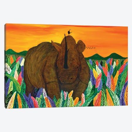 Rhinocironte Canvas Print #FSN15} by Francisco Sanabria Canvas Wall Art