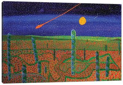 Cometa Canvas Art Print