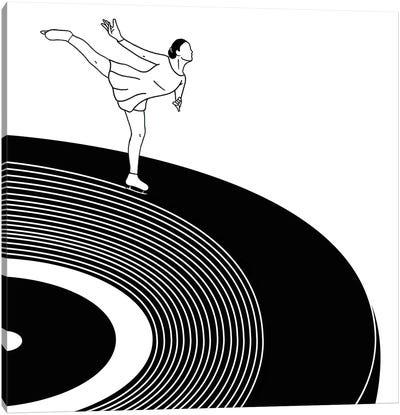 Dancing Of Sound Canvas Art Print