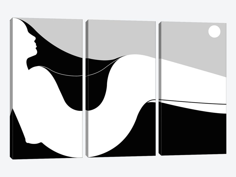 Dune by Filippo Spinelli 3-piece Canvas Print