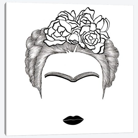 Frida Kahlo Canvas Print #FSP25} by Filippo Spinelli Canvas Art Print