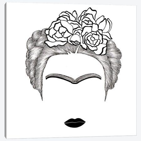 Frida Kahlo Canvas Print #FSP25} by Filippo Spinelli Canvas Art Print