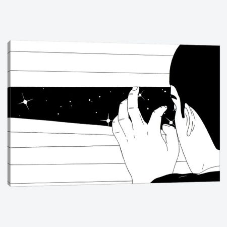 Spying On The Stars Canvas Print #FSP67} by Filippo Spinelli Canvas Art Print