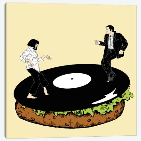 Hungry For Dance Canvas Print #FSP93} by Filippo Spinelli Canvas Art Print