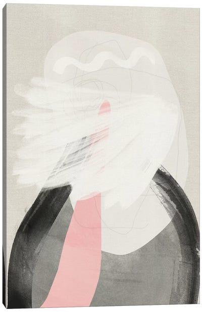 Tormented Canvas Art Print