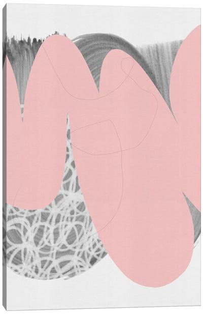 Disintegrating Circle Canvas Art Print