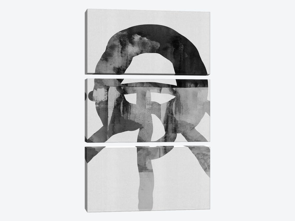 An Isolated Person Such As Yourself by Fede Saenz 3-piece Canvas Print