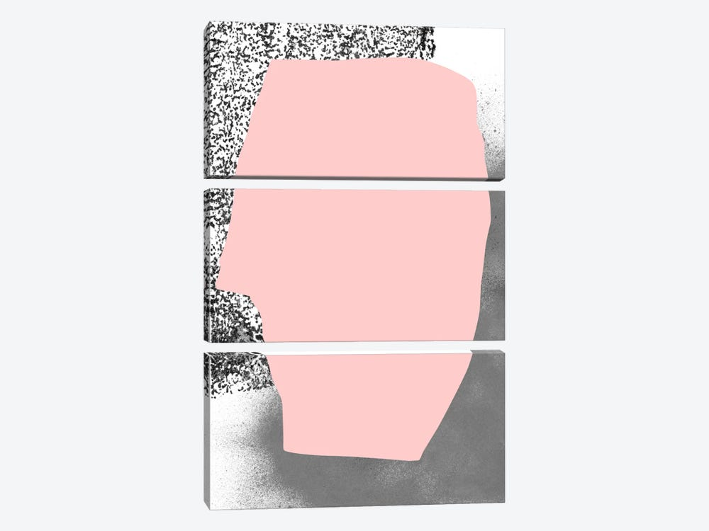 As Much As She Can by Fede Saenz 3-piece Art Print