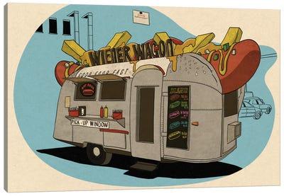 Wiener Wagon Canvas Print #FTS12