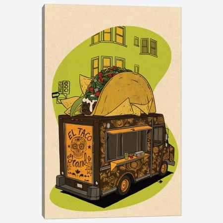 El Taco Grande Canvas Print #FTS3} by 5by5collective Canvas Print