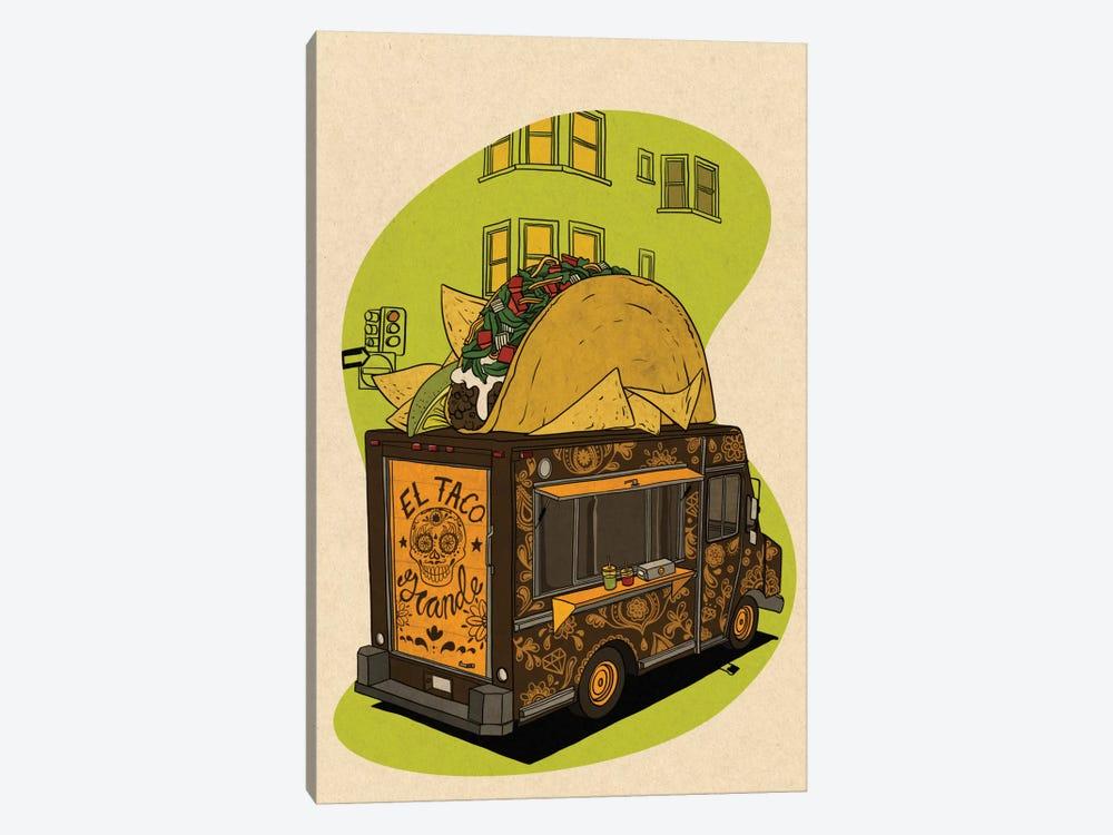El Taco Grande by 5by5collective 1-piece Art Print