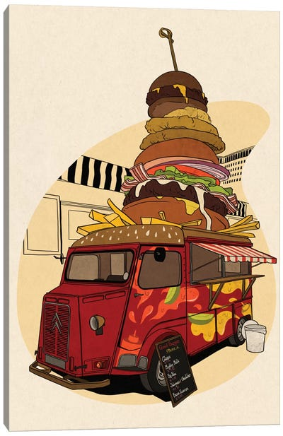 Good Burger Canvas Art Print