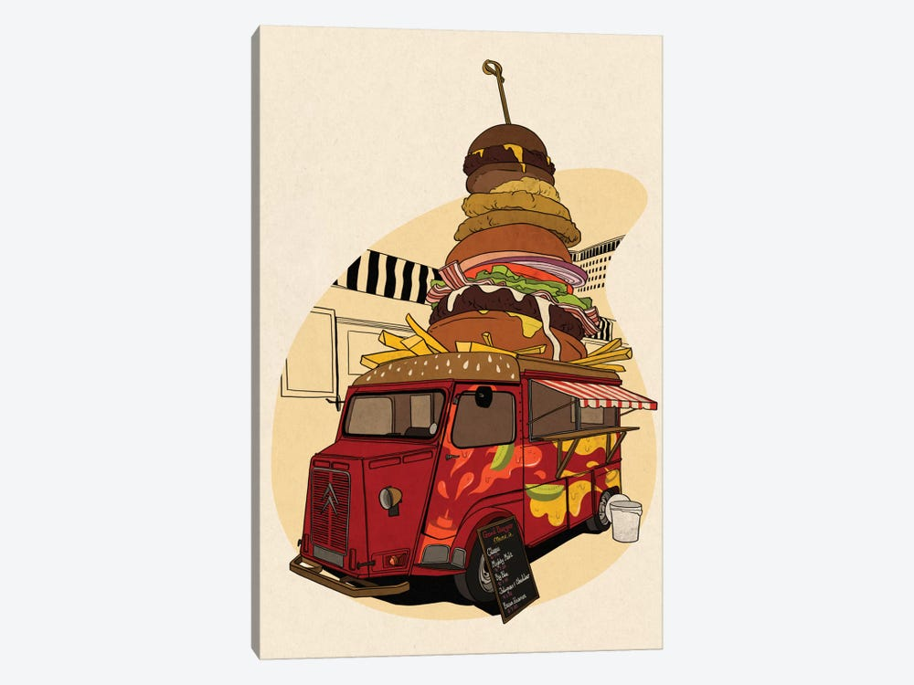 Good Burger by 5by5collective 1-piece Art Print