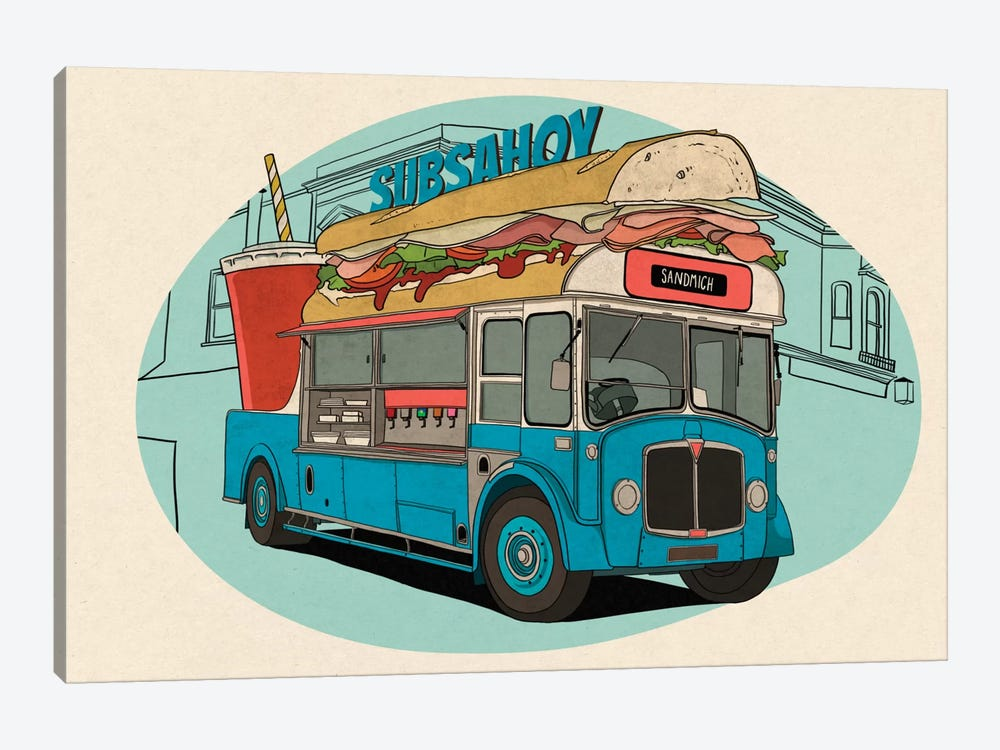 Subsahoy by 5by5collective 1-piece Canvas Art