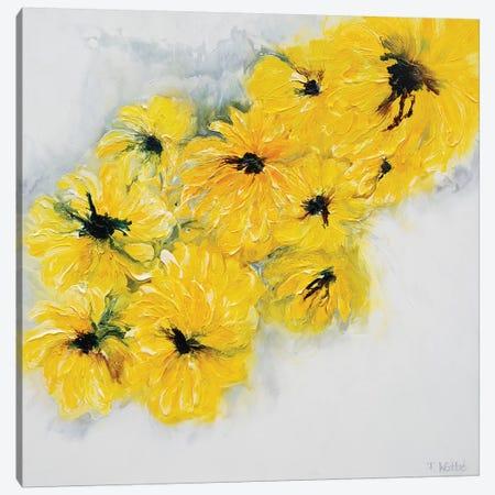Golden Delight Canvas Print #FWA11} by Françoise Wattré Canvas Art Print