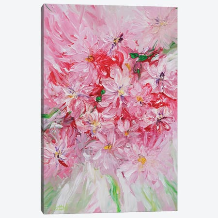 New Beginning Canvas Print #FWA18} by Françoise Wattré Art Print