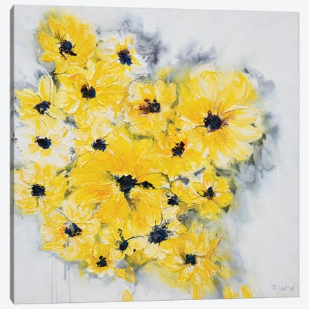Summer Afternoon Canvas Print #FWA19} by Françoise Wattré Canvas Print