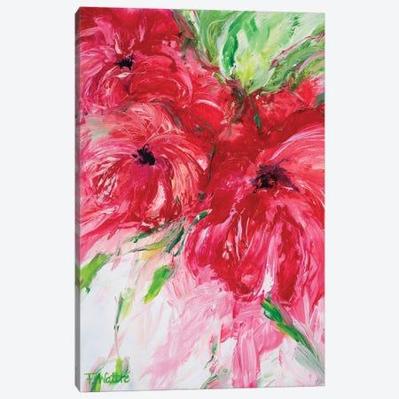 A Garden Full Of Love Canvas Print #FWA1} by Françoise Wattré Canvas Print