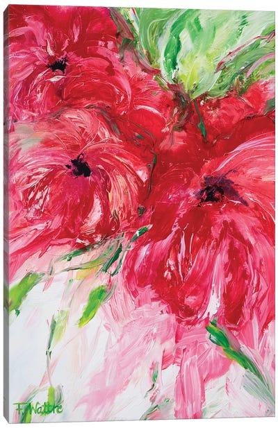 A Garden Full Of Love Canvas Art Print