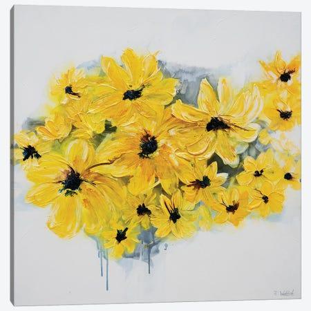 Sunshine Garden Canvas Print #FWA20} by Françoise Wattré Canvas Artwork