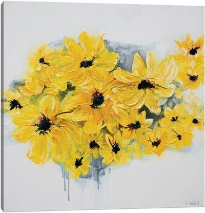 Sunshine Garden Canvas Art Print