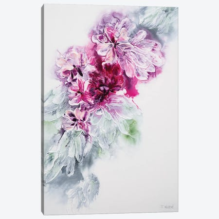 The Sweet Smell Of Happiness Canvas Print #FWA23} by Françoise Wattré Canvas Wall Art