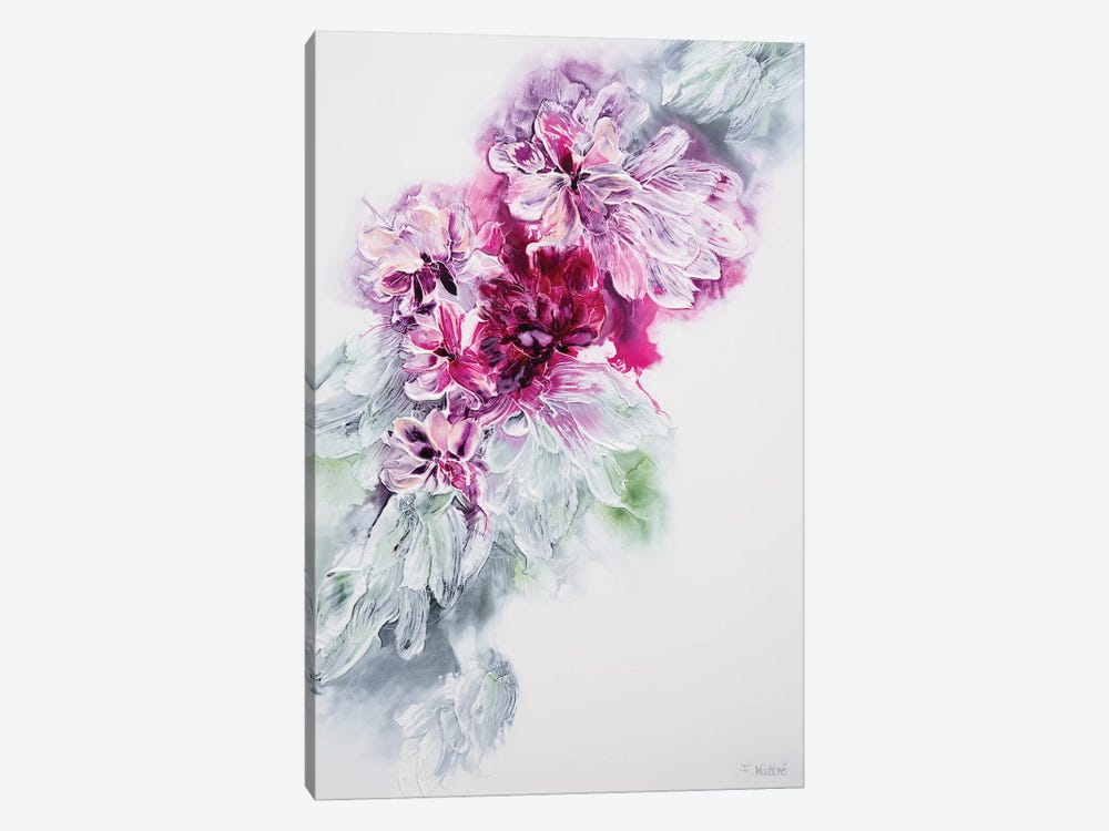 The Sweet Smell Of Happiness by Françoise Wattré 1-piece Canvas Wall Art