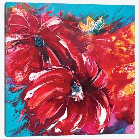 Tropical Garden I Canvas Print #FWA26} by Françoise Wattré Canvas Print