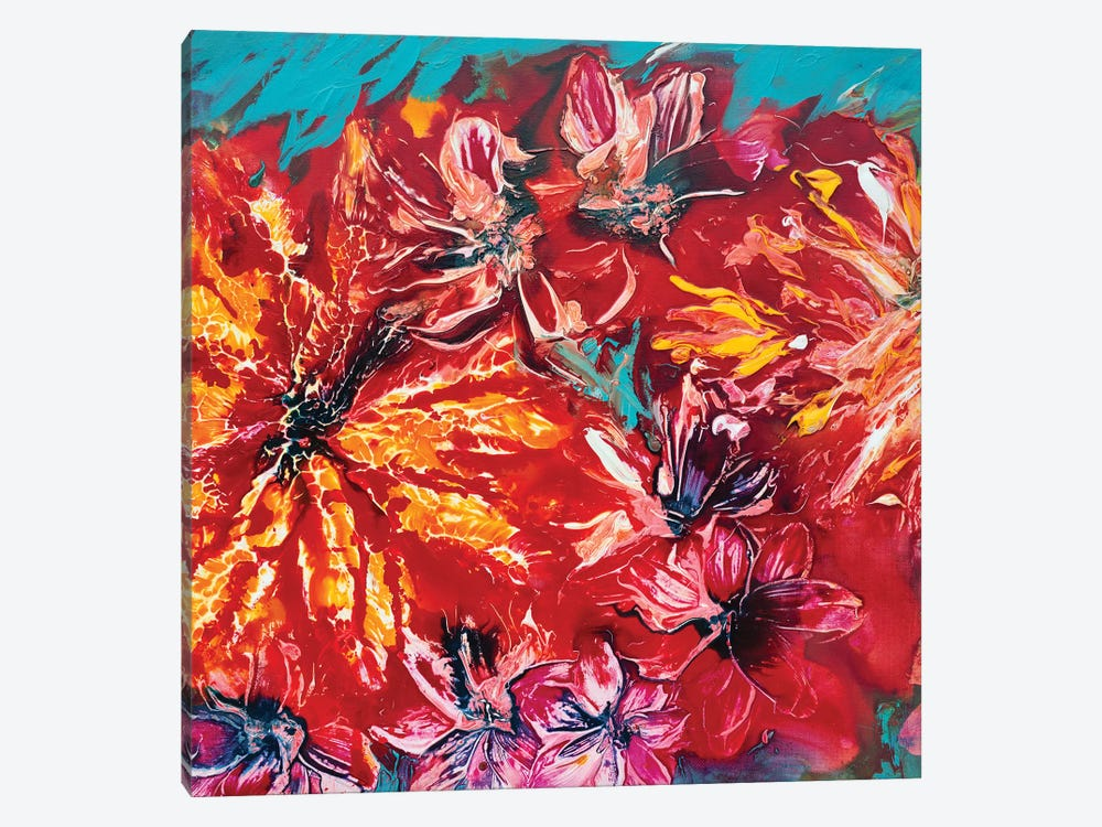 Tropical Garden II by Françoise Wattré 1-piece Canvas Wall Art