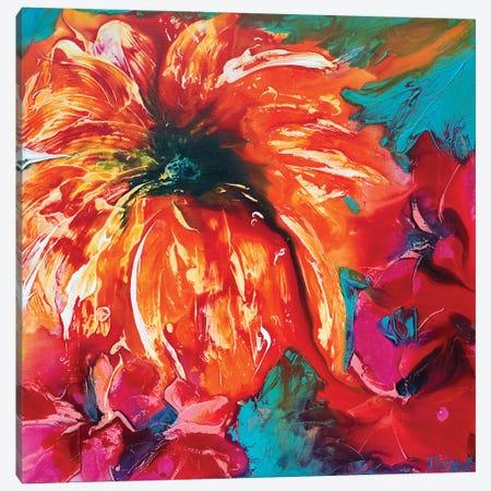Tropical Garden III Canvas Print #FWA28} by Françoise Wattré Canvas Art
