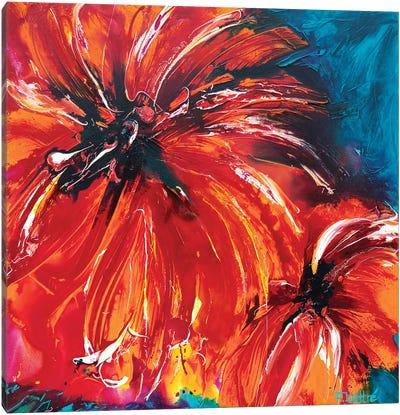 Tropical Sun Canvas Art Print