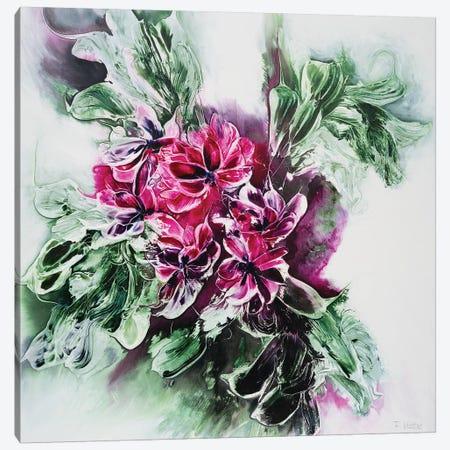 Abundant Spring Time Canvas Print #FWA2} by Françoise Wattré Art Print