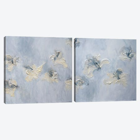 A New Morning Diptych Canvas Print Set #FWA2HSET002} by Françoise Wattré Canvas Artwork
