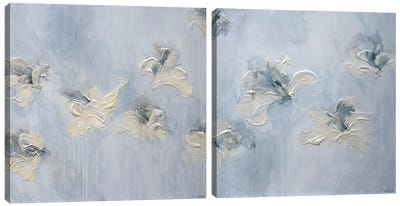 A New Morning Diptych Canvas Art Print