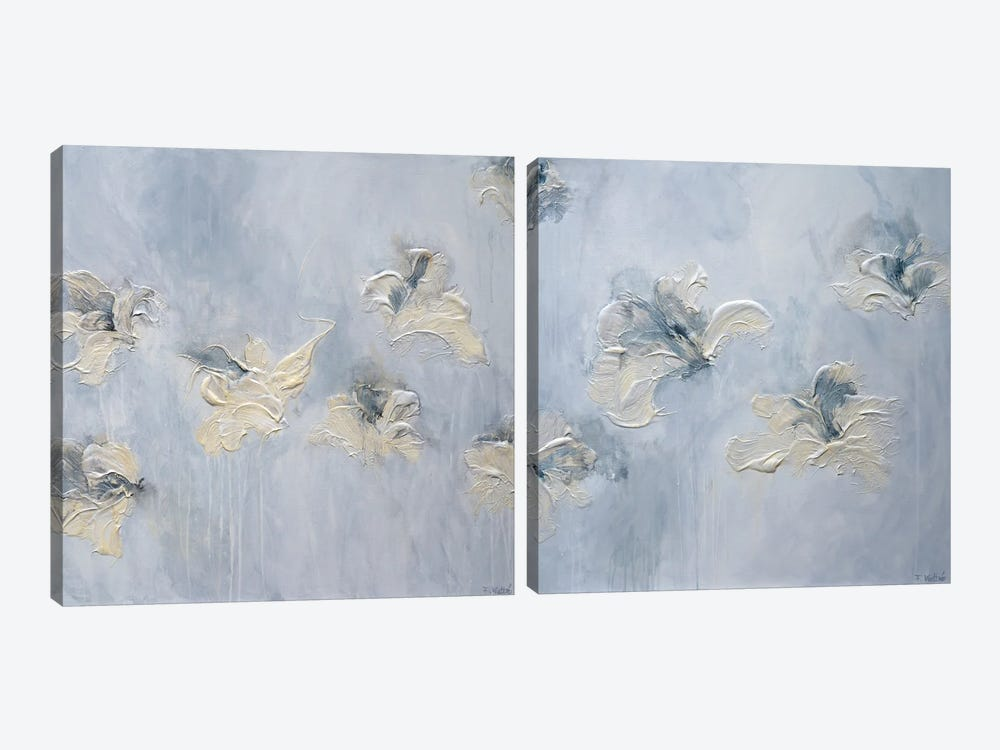 A New Morning Diptych by Françoise Wattré 2-piece Canvas Print