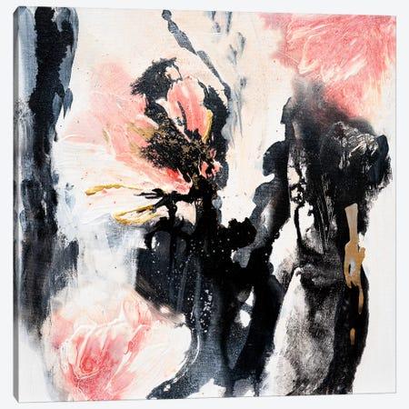 A Rose Garden Canvas Print #FWA36} by Françoise Wattré Canvas Art