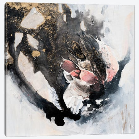 Little Rose Canvas Print #FWA55} by Françoise Wattré Canvas Art