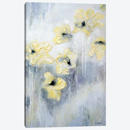 Spring Kisses Canvas Print #FWA60} by Françoise Wattré Canvas Wall Art