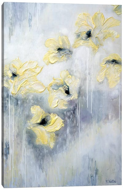 Spring Kisses Canvas Art Print