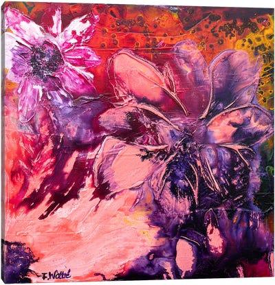 Summer Fragrance I Canvas Art Print
