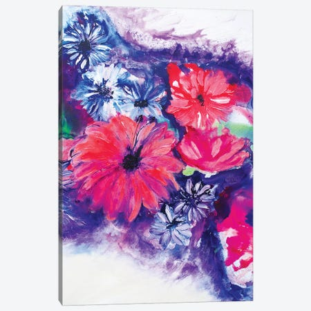Sweet Tropical Heat II Canvas Print #FWA70} by Françoise Wattré Art Print