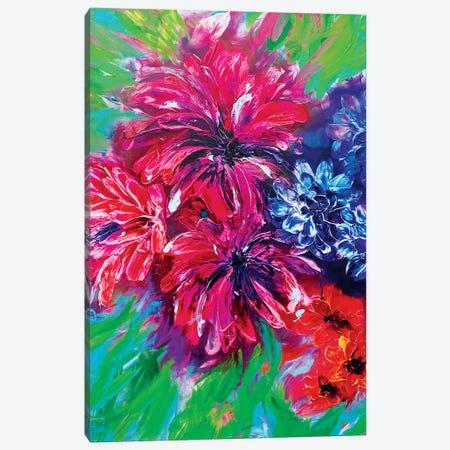 Jungle Paradise I Canvas Print #FWA72} by Françoise Wattré Canvas Print