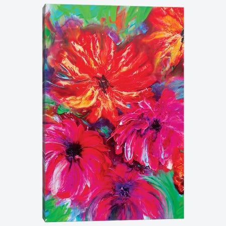 Jungle Paradis II Canvas Print #FWA73} by Françoise Wattré Canvas Print