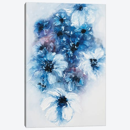 Blue Dreams Canvas Print #FWA7} by Françoise Wattré Canvas Art